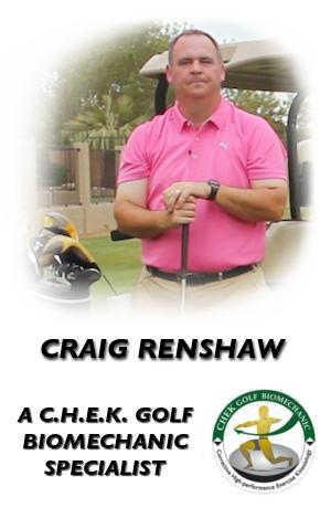 Craig Renshaw, C.H.E.K. Biomechanic Specialist